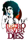 Retro Never Dies — Stock Photo