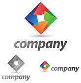 Corporate Icon — Stock Vector