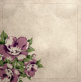 Floral Vintage Background — Stockfoto