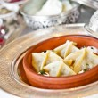 Stock Photo: Turkish Ravioli (Manti) from classical Ottoman-Turkish Cuisine