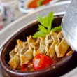 Turkish Ravioli (Manti) from classical Ottoman-Turkish Cuisine — Stockfoto