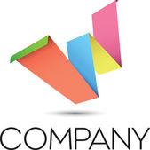 Letter W Logo — Stock Vector