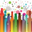 Royalty-Free Stock Vector Image: Color Bottles
