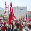 Foto Stock: World youth parade, Istanbul