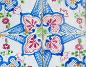 Hand painted Tunisian ceramic tiles — Stock Photo