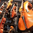 Violins, violas and cellos — Stock Photo #23121866