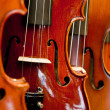 Violins, violas and cellos — Stock Photo #23121962