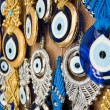 Turkish evil eye beads — Stock Photo