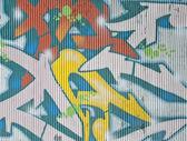 Textura de la pared de graffiti — Foto de Stock