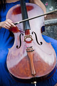 Cello Player — Stock Photo