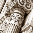 Ancient architectural details — Stock Photo