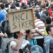 Gezi Park Protests in Istanbul — Stock Photo