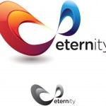 Eternity Symbol — Stock Vector