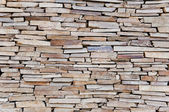 Natural stone wall texture — Stock Photo