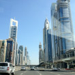 Sheikh Zayed Road — Stock Photo