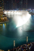 Dubai Fountains — Stock Photo