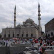 Yeni Cami (New Mosque) in Eminonu district, Istanbul — Stock Photo #28579723