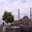 Yeni Cami (New Mosque) in Eminonu district, Istanbul — Stock Photo #28579747