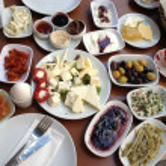 aptitretande turkisk frukost — Stockfoto