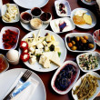 Foto Stock: Mouth-watering Turkish breakfast