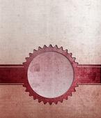 红色的封面模板 — 图库照片
