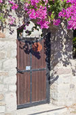 Authentic Mediterranean architectural detail — Stock Photo