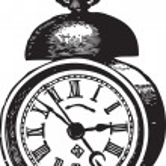 Oldf Clock — Stock Vector #34659925