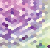 Violet Hexagonal Pattern — Stock Vector