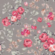 Rose Seamless Pattern — Stock vektor