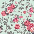 Rose Seamless Pattern — Stock Vector