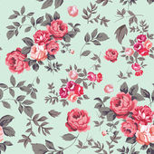 Rose Seamless Pattern — Stockvektor