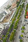 Tunesien proteste — Stockfoto