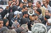 Tunisia Protests — Stock Photo
