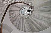 Spiral stairway — 图库照片