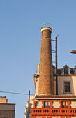 Old chimney in Istanbul — Stock Photo