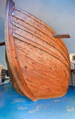 Boat maquette in museum — Stockfoto
