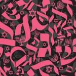 İbranice seamless modeli — Stok Vektör