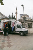 Local promotion organization of AKP for 2014 local elections in Turkey — Stock fotografie