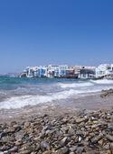 Wyspa mykonos, grecja — Zdjęcie stockowe
