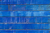 Blue painted wooden panels background — Stock Photo
