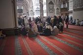 Praying in Ulucami, Bursa — Stock Photo