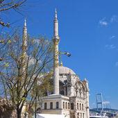 Ortakoy Mosque, Istanbul — Stock Photo