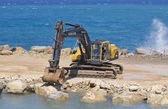 Datca Harbor Construction — Stock Photo