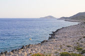 Kaputas coast, Turkey — Stock Photo
