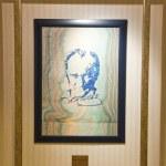 Painting of Ataturk by Hikmet Barutcugil — Stock Photo #50105287