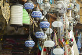 Turkish touristic souvenirs sold at bazaar — Foto de Stock