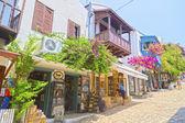 Miasto kas w pobliżu antalya, turcja — Zdjęcie stockowe