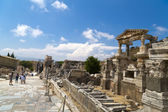 Ancient City of Ephesus, Izmir, Turkey — Zdjęcie stockowe