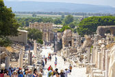 Ancient City of Ephesus, Izmir, Turkey — Stock Photo