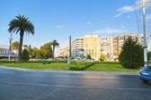 World peace monument in Alsancak square in Izmir, Turkey — Stock Photo